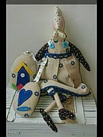 Курочка в стиле Тильда, подарочек  Hand Made игрушка 34 см, фото 1