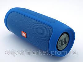 JBL Charge4 E4 копия, Bluetooth колонка 20W  с FM MP3, синяя, фото 2