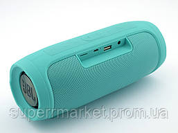 JBL Charge4 E4 копия, Bluetooth колонка 20W  с FM MP3, мята, фото 3
