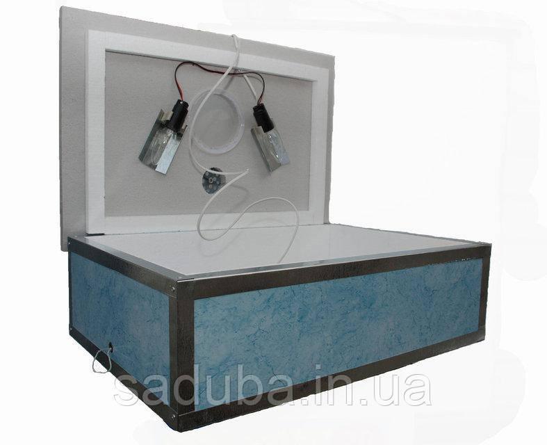 Инкубатор пластиковый Наседка ИБМ-100 с механическим переворотом яиц