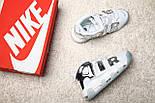 Кроссовки Nike Air More Uptempo 96 gs reflective. Топ качество! Живое фото (Реплика ААА+), фото 8