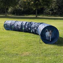 TX-3211 Тренировочный тоннель 60см/5м, тёмно-голубой для аджилити, фото 2