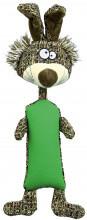 TX-34808 Игрушка Кролик (резина/плюш/ткань) 37см для собак
