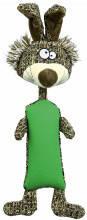 TX-34808 Игрушка Кролик (резина/плюш/ткань) 37см для собак, фото 2