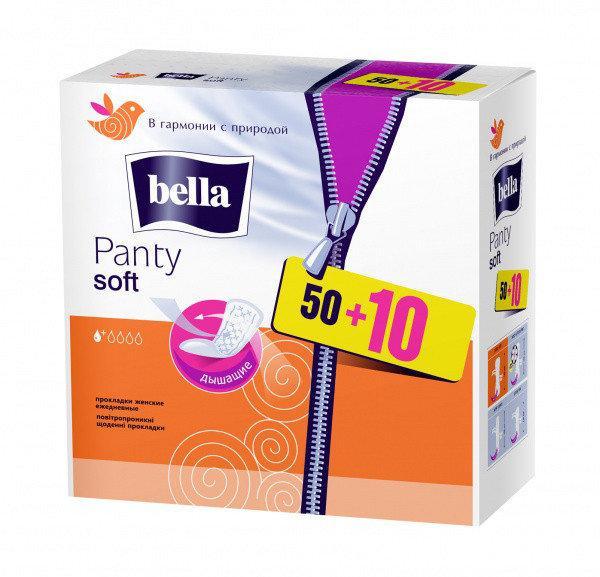 """Прокладки """"Bella Panty Soft"""" (60 шт.)"""