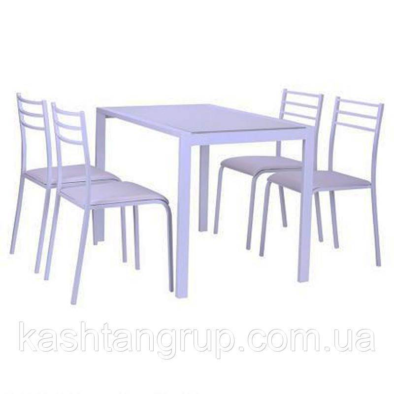 Обеденный Комплект Тмин стол + 4 стула 1100*700*750