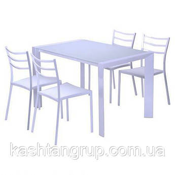 Обеденный Комплект Мускат стол + 4 стула 1200*750*750