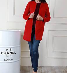 Женское весеннее пальто кардиган