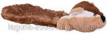 TX-35986 Игрушка Бурундук (плюш)с хвостом  30см для собак