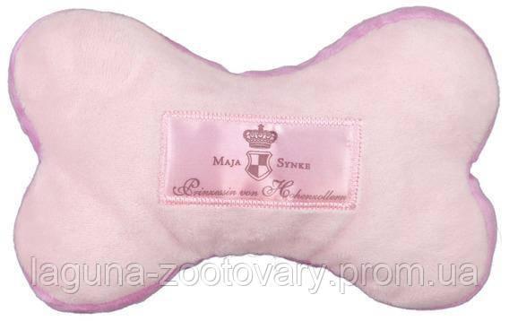 """TX-36090 Косточка """"Dog Princess"""" (плюш) 16см розовая игрушка для собак, фото 2"""
