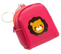 Мини-рюкзачок со львом - брелок на сумочку