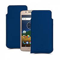 Футляр Stenk Elegance для Motorola Moto G5 Plus Синий