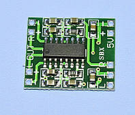 Модуль: усилитель НЧ PAM8403 (2х3W, 2.5-5V), Китай
