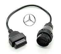 Переходник Mercedes 38 pin--OBDII