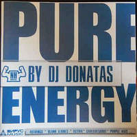 CD-диск DJ Donatas – Pure Energy