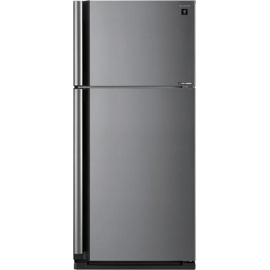Двухкамерный холодильник Sharp SJ-XE680MSL