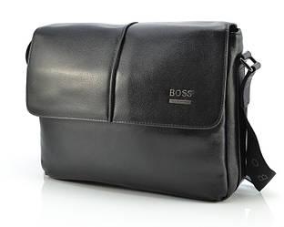 Горизонтальная мужская сумка Hugo Boss 2052-4