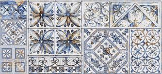 Декор ВІВА 23х50 сірий 071-1