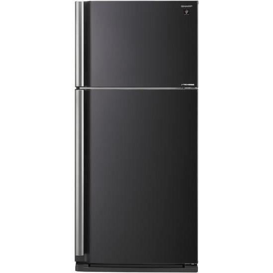 Двухкамерный холодильник Sharp SJ-XE680MBK