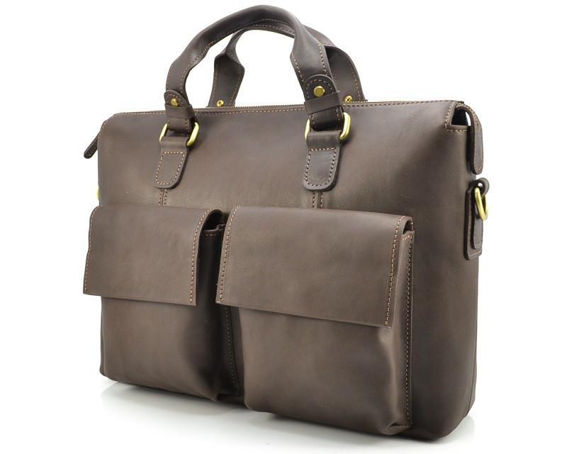 Матовая коричневая сумка VATTO MK25Kr450 (Украина)