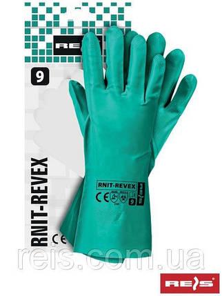 Перчатки нитриловые RNIT-REVEX Z, размер 9, фото 2