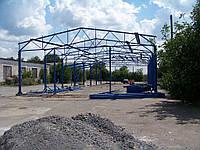 Строительство складского помещения 15*42*5.