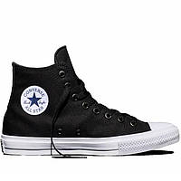 "Женские кеды Converse Chuck Taylor All Star II High ""Black/White/Navy"""