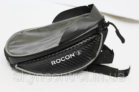 Сумка велосипедная ROCON для телефона на вынос руля, фото 2