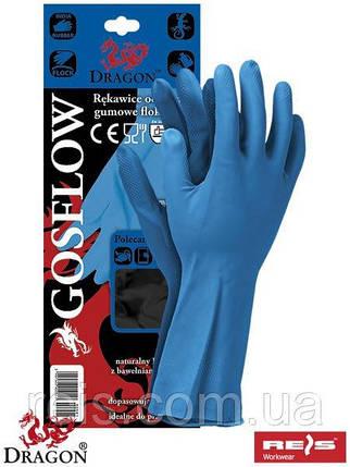 Перчатки GOSFLOW из тонкого нитрила - REIS, размер L, фото 2