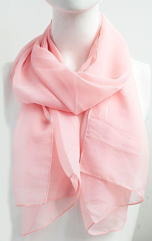 Женский шарф 150 на 50 dress 11-305_нежно-роз