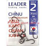Крючки Leader  офсетный тонкий, фото 5