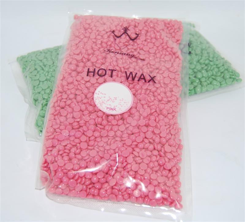 Горячий пленочный воск в гранулах Hot Wax  500 грамм Гранат