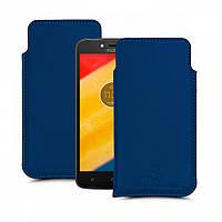 Футляр Stenk Elegance для Motorola Moto C Plus (XT1723) Синий