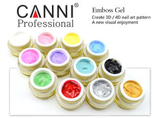 3D гель-паста Embossing Gel Canni, 8 мл