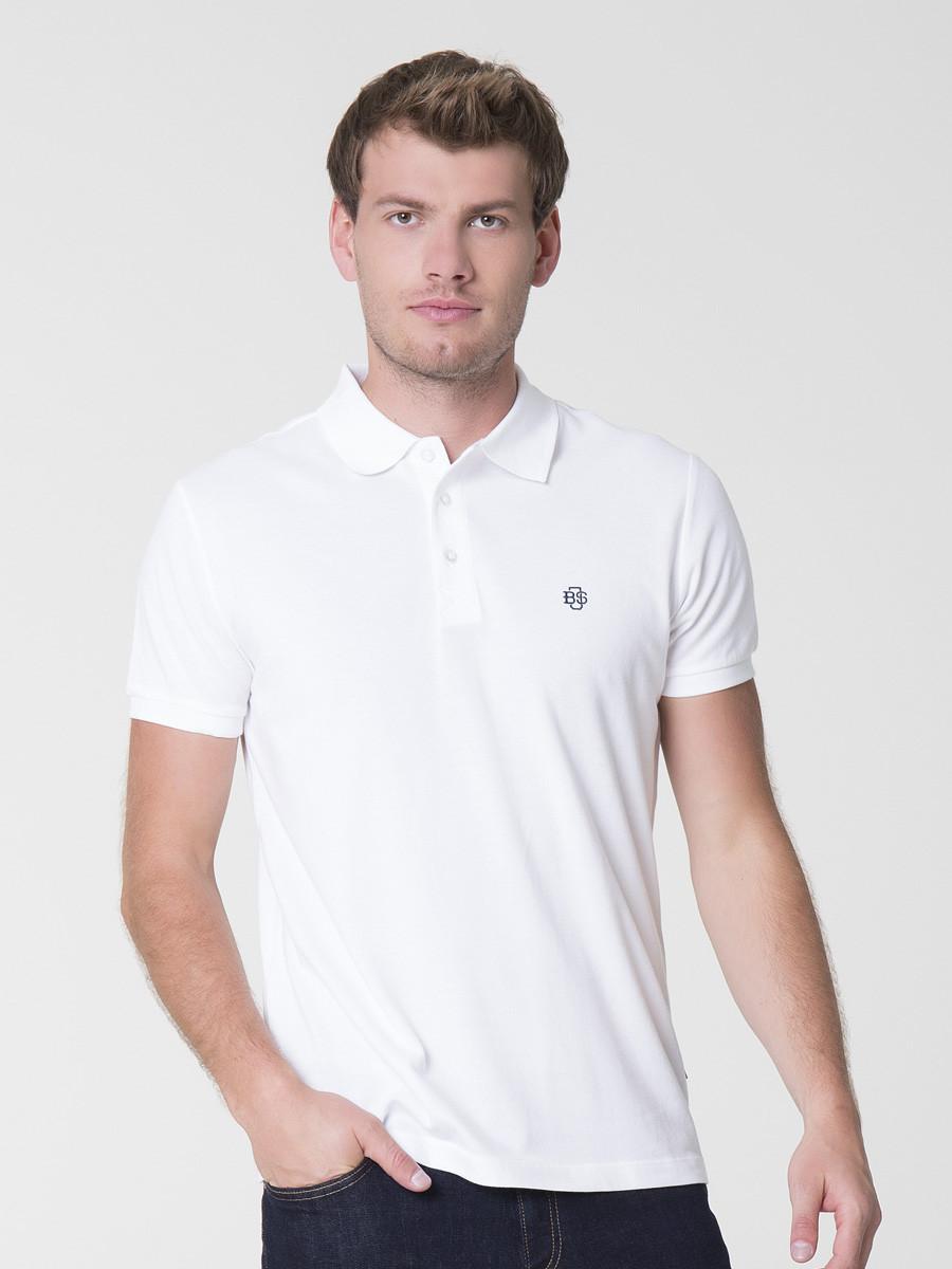 Тениска мужская BIG STAR BS MARKOLINO POLO SS 110 WHITE