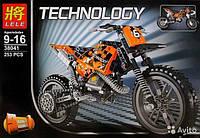 Конструктор Technology Кроссовый мотоцикл 38041