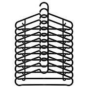 СПРОТТИГ Плечики, черный, 10 штук 20317079 ИКЕА, IKEA, SPRUTTIG