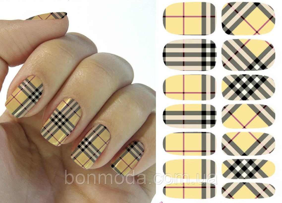 Наклейки для дизайна ногтей № 12