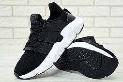 "Кроссовки Adidas Prophere ""Black/White"". Живое фото. Реплика ААА+"