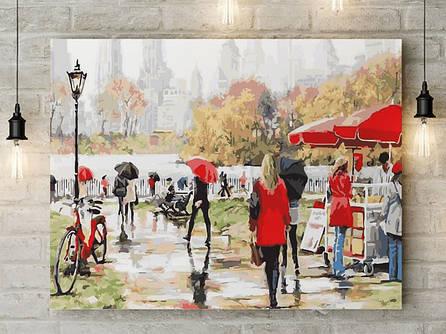 "Картина по номерам ""Осень в парке"" 40х50 см"