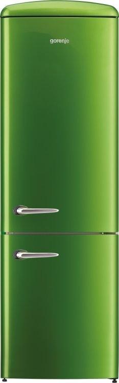 Двухкамерный холодильник Gorenje ORK192 GR