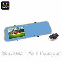 """Видеорегистратор зеркало 5"""" DVR T100 Android+Антирадар!Купить сейчас, фото 3"""