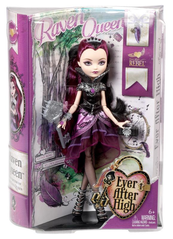 Рэйвен Квин Базовая первый выпуск Кукла Эвер Афтер Хай Ever After High Raven Queen Doll