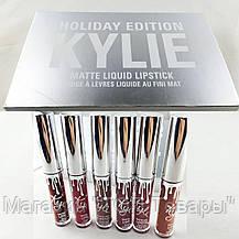 Помада Kylie 8613 silver 6 шт, фото 2