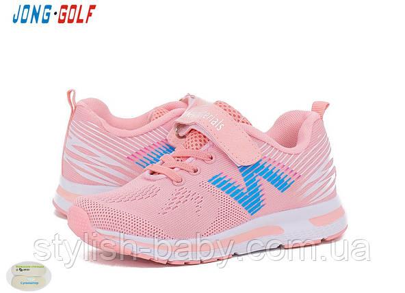 Весенняя коллекция детских кроссовок. Детская спортивная обувь бренда Jong Golf для девочек (рр. с 31 по 36), фото 2
