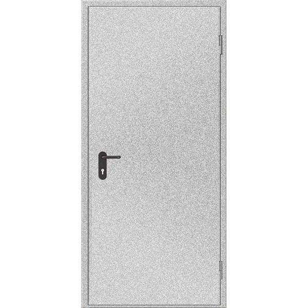 Двери противопожарные металлические глухие ДМП ЕІ30-1-2100х1000 прав., ЕвроСтандарт