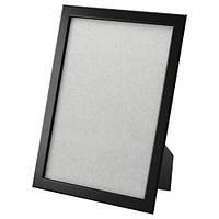 ФИСКБУ Рамка для фотографий, черный, 21x30 см 30295656 ИКЕА, IKEA, FISKBO