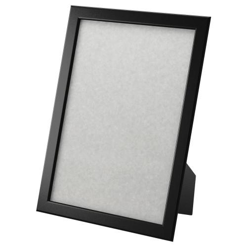 ФИСКБУ Рамка для фотографий, черный, 21x30 см 30295656 ИКЕА, IKEA, FIS