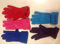 Перчатки зимние женские одинарный флис