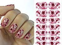 Наклейки для дизайна ногтей № 37
